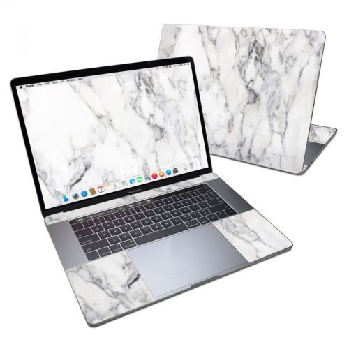 White Marble MacBook Pro 15-inch Skin