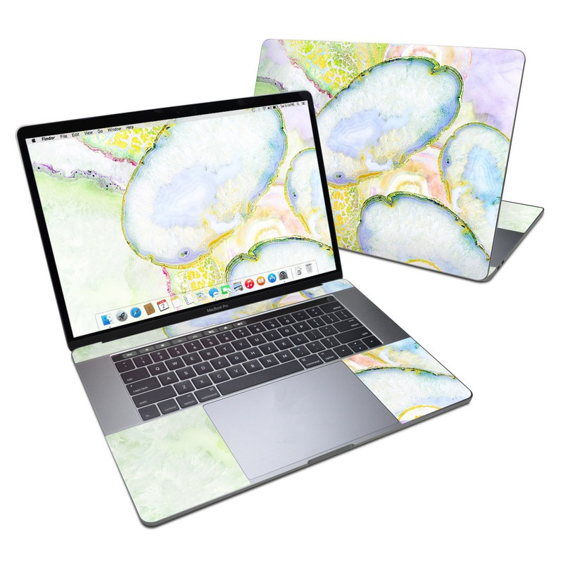 Agate Dreams MacBook Pro 15-inch Skin