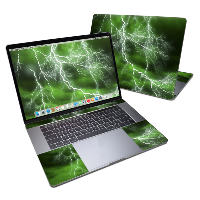 Apocalypse Green MacBook Pro 15-inch (2016) Skin