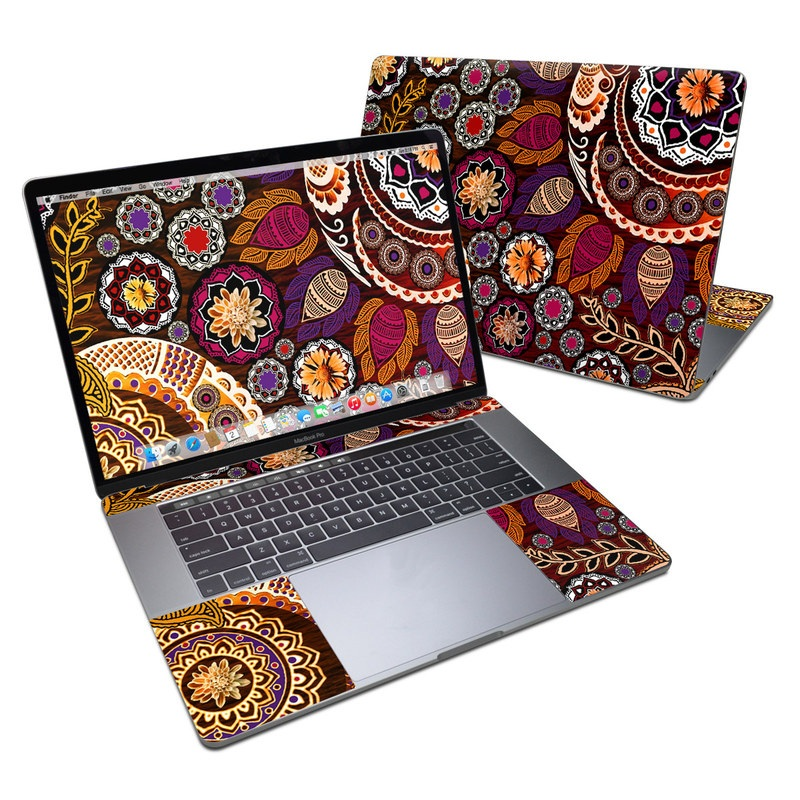 Autumn Mehndi MacBook Pro 15-inch (2016) Skin