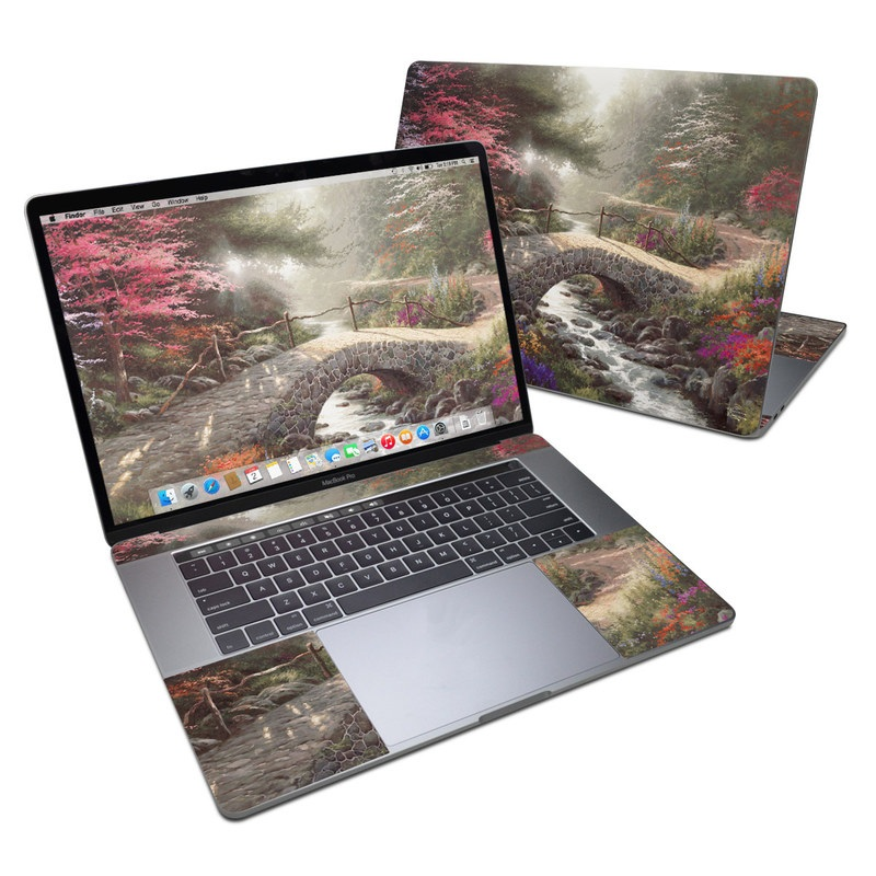 Bridge of Faith MacBook Pro 15-inch Skin