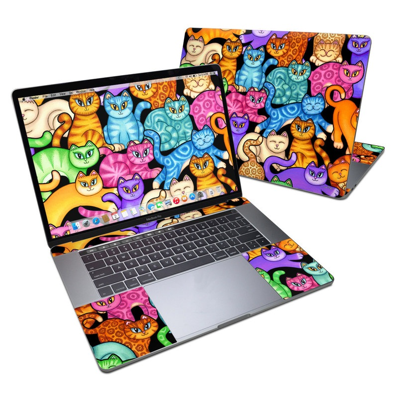 Colorful Kittens MacBook Pro 15-inch Skin