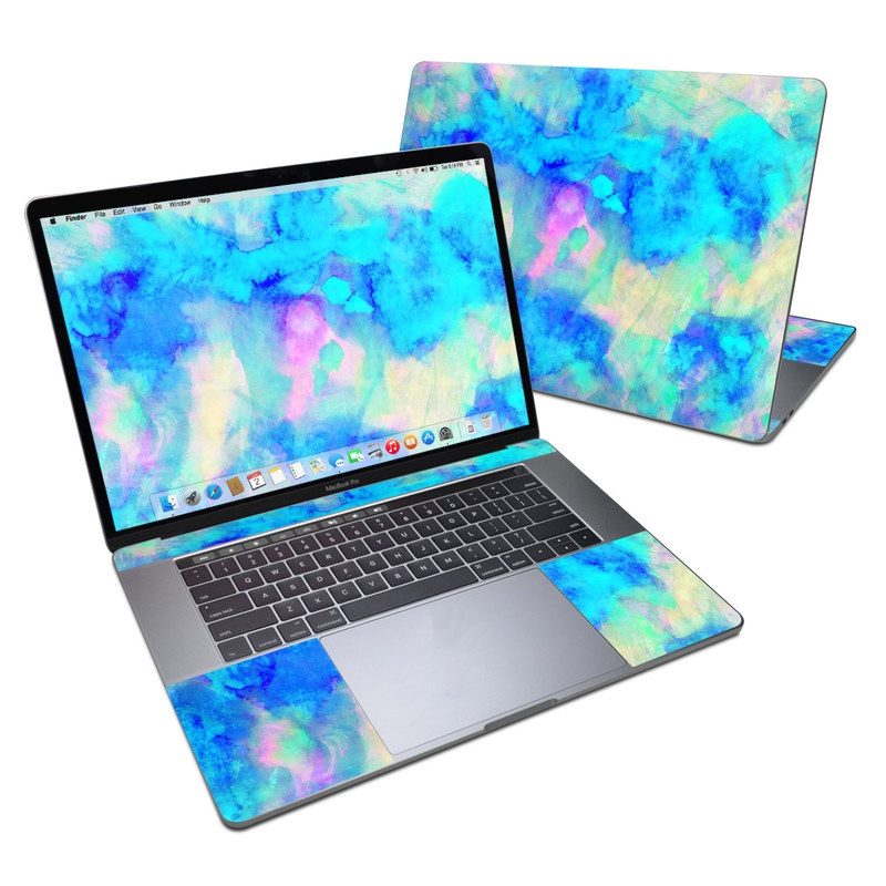 Electrify Ice Blue MacBook Pro 15-inch Skin