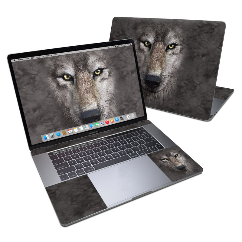 Grey Wolf MacBook Pro 15-inch Skin