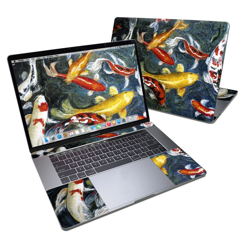 Koi's Happiness MacBook Pro 15-inch Skin