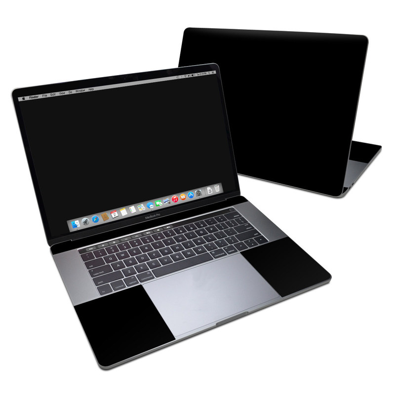 MacBook Pro 15-inch Skin design of Black, Darkness, White, Sky, Light, Red, Text, Brown, Font, Atmosphere with black colors
