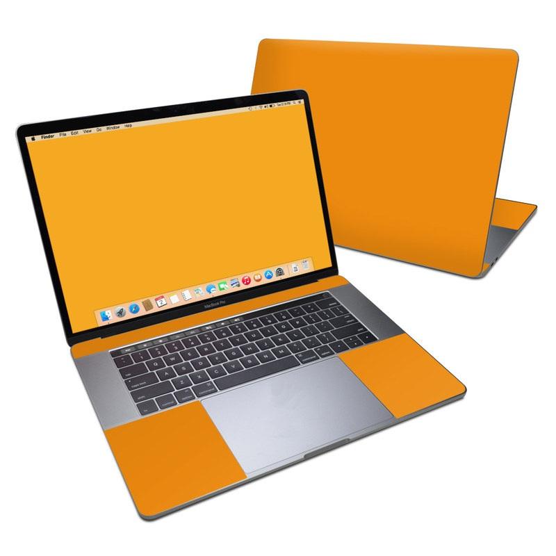 Solid State Orange MacBook Pro 15-inch (2016) Skin