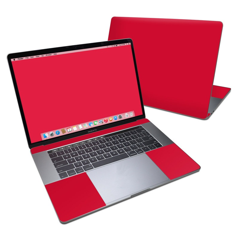 Solid State Red MacBook Pro 15-inch (2016) Skin