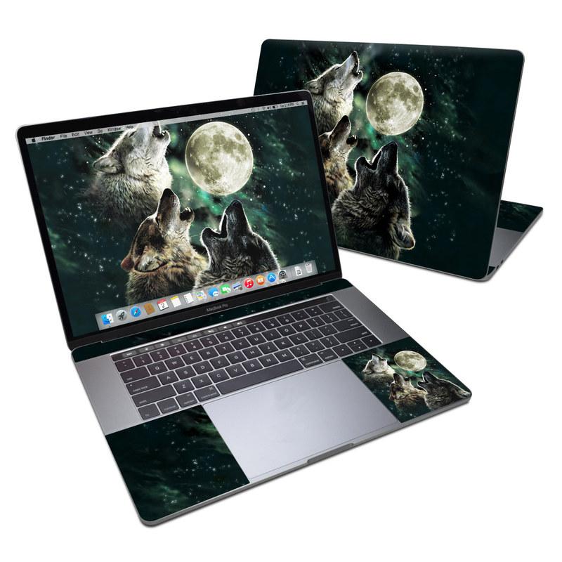 Three Wolf Moon MacBook Pro 15-inch Skin
