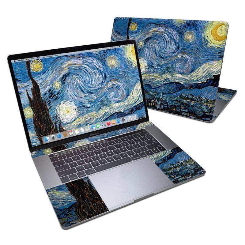 Starry Night MacBook Pro 15-inch (2016) Skin