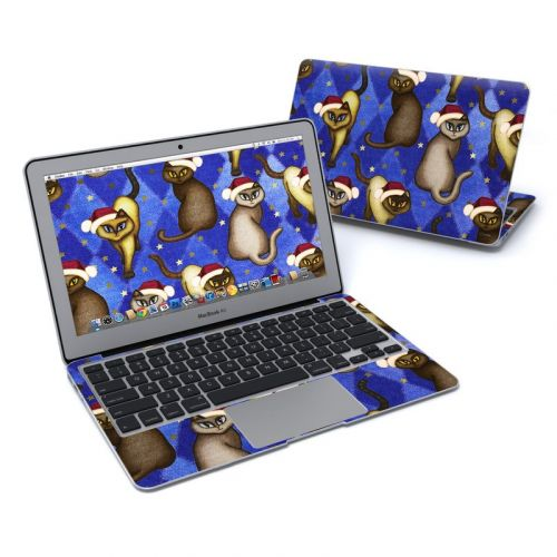 Christmas Cats MacBook Air Pre 2018 11-inch Skin