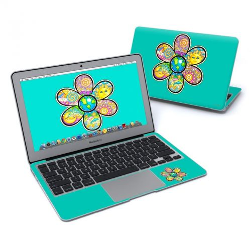 Peace Flower MacBook Air 11-inch Skin