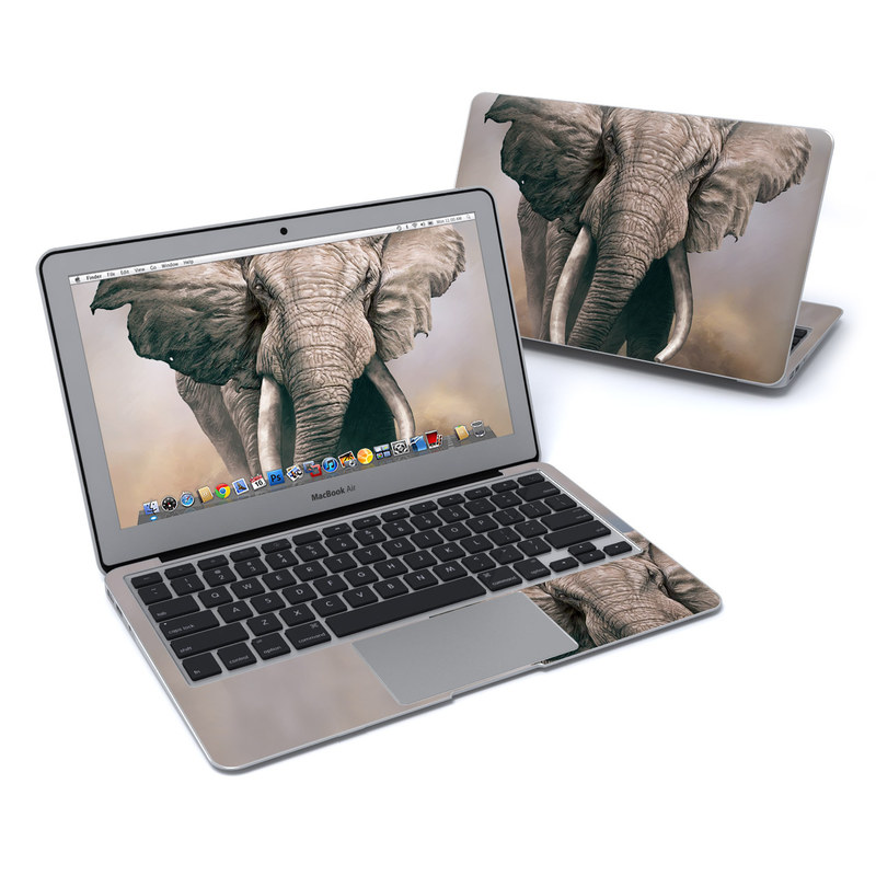 African Elephant MacBook Air 11-inch Skin