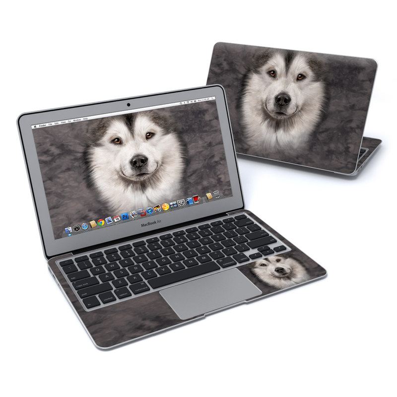 Alaskan Malamute MacBook Air 11-inch Skin