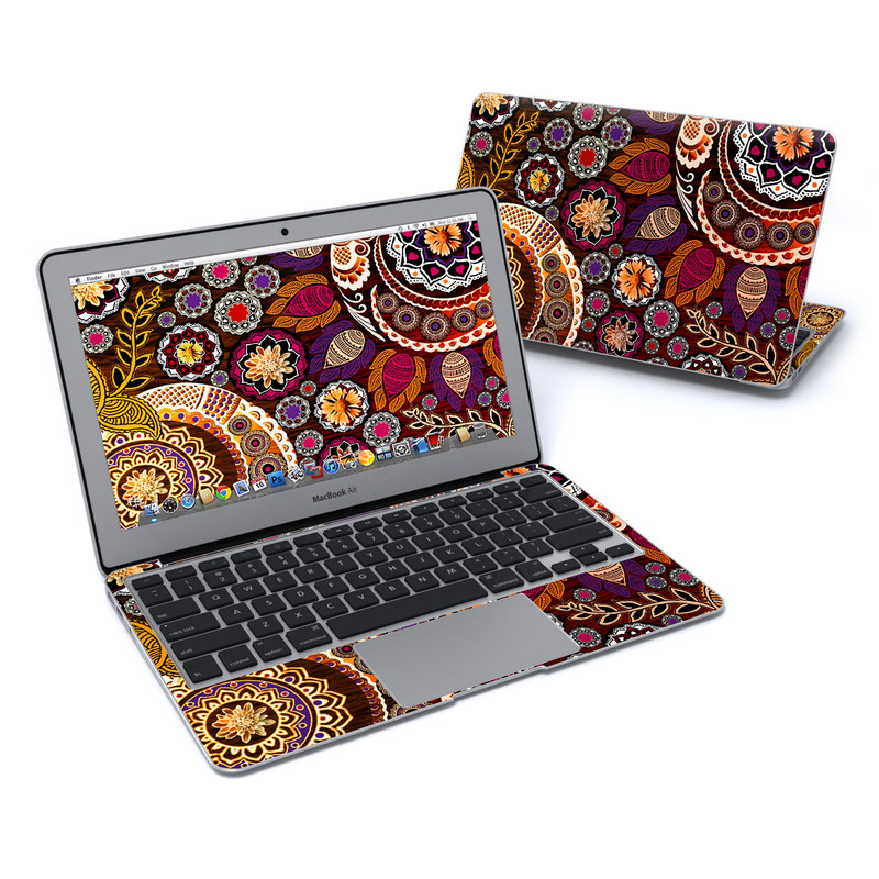 Autumn Mehndi MacBook Air 11-inch Skin
