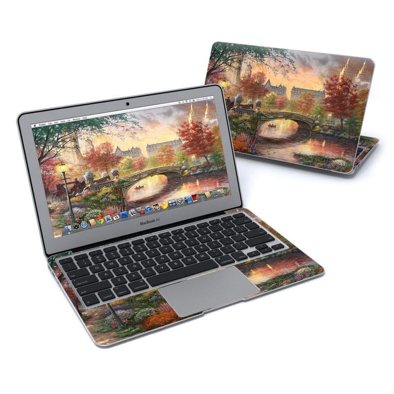 Autumn in New York MacBook Air 11-inch Skin