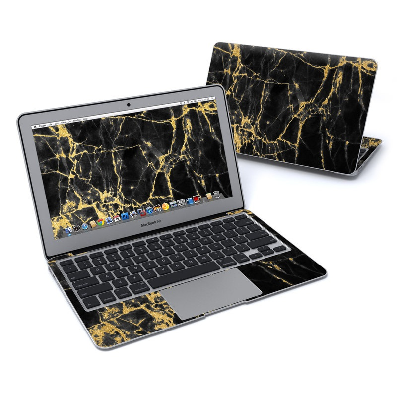 Black Gold Marble MacBook Air 11-inch Skin