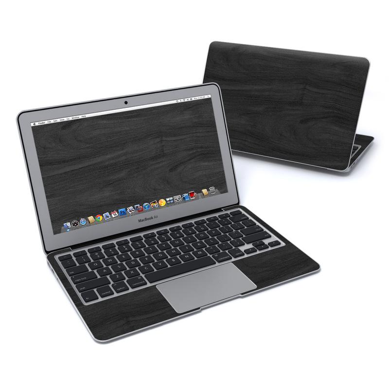 Black Woodgrain MacBook Air Pre 2018 11-inch Skin