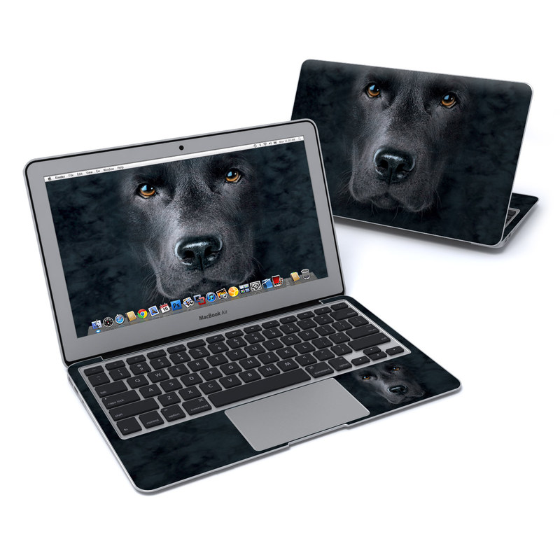 Black Lab MacBook Air 11-inch Skin