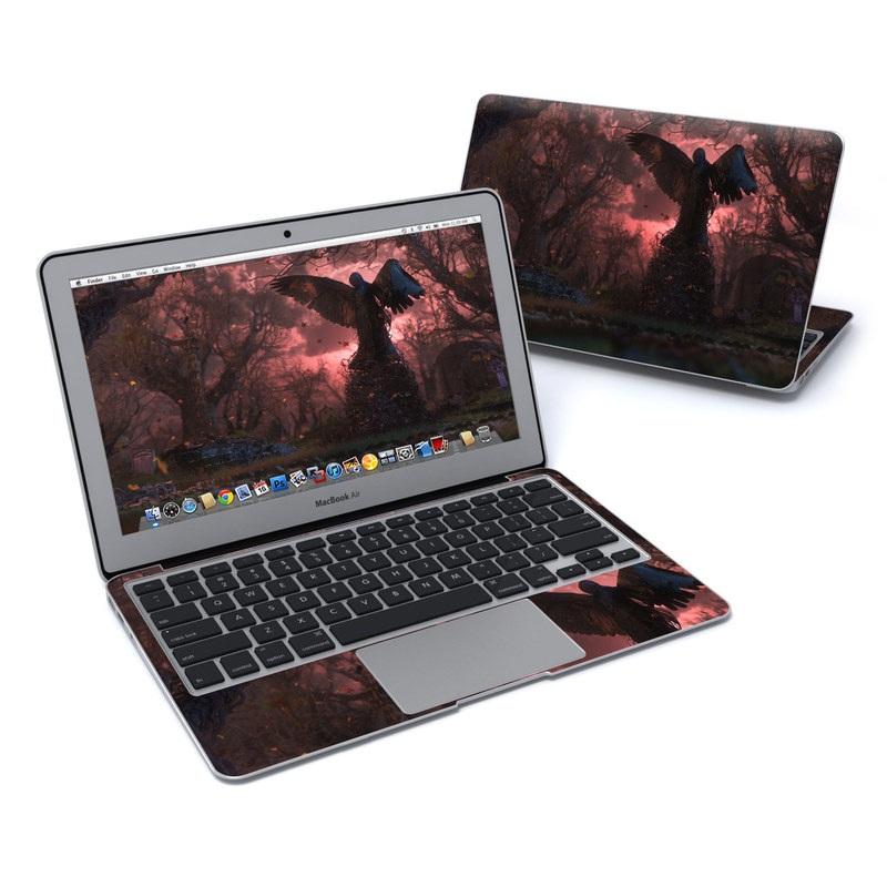 Black Angel MacBook Air 11-inch Skin
