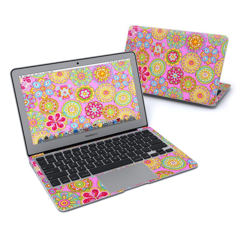 Bright Flowers MacBook Air 11-inch Skin