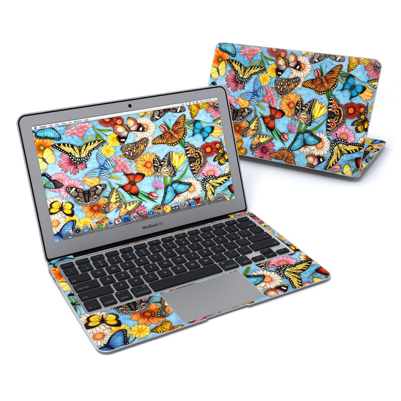 Butterfly Land MacBook Air 11-inch Skin