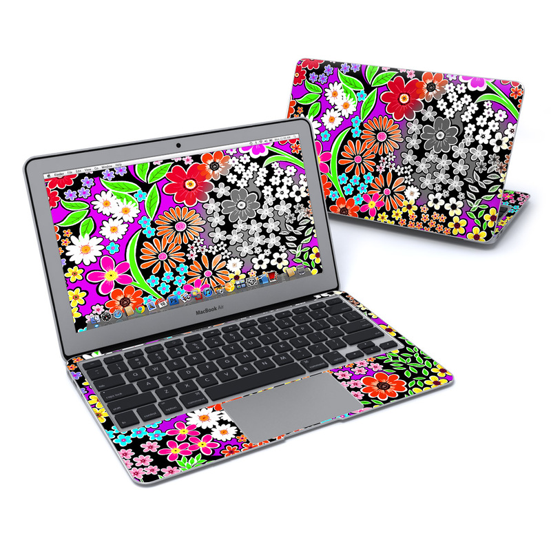 A Burst of Color MacBook Air 11-inch Skin