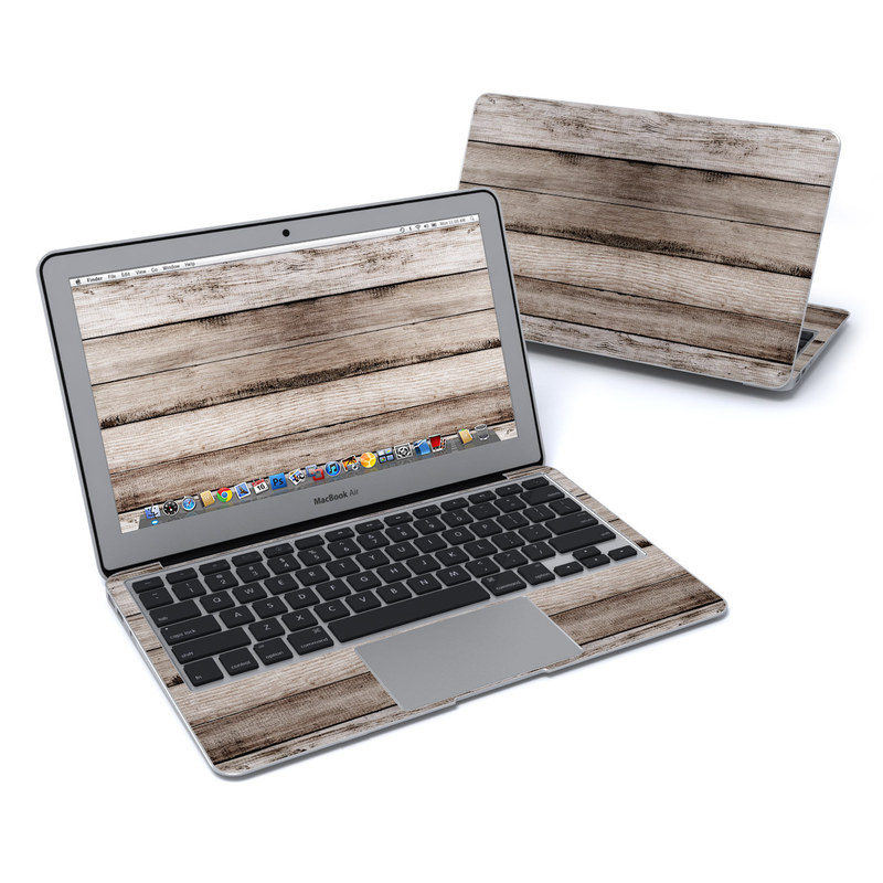 Barn Wood MacBook Air 11-inch Skin