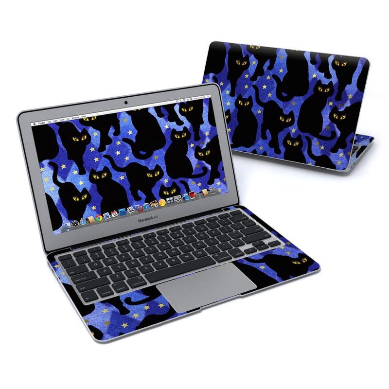 Cat Silhouettes MacBook Air Pre 2018 11-inch Skin