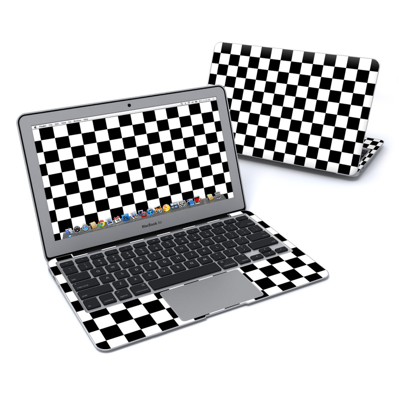 Checkers MacBook Air 11-inch Skin