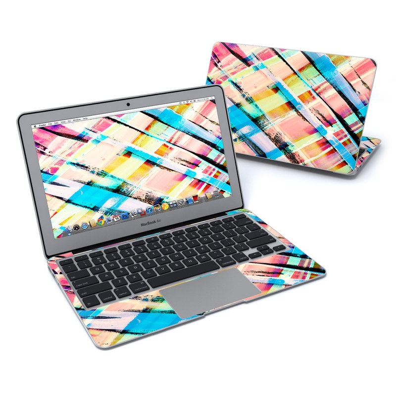 Check Stripe MacBook Air 11-inch Skin