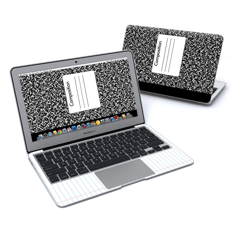 Composition Notebook MacBook Air 11-inch Skin
