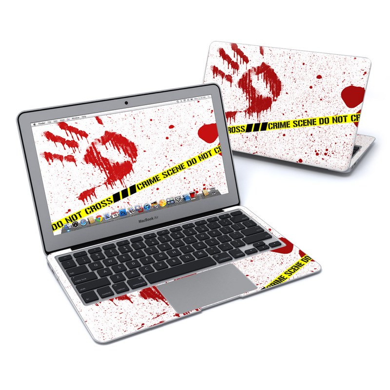 Crime Scene Revisited MacBook Air 11-inch Skin