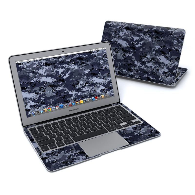 Digital Navy Camo MacBook Air 11-inch Skin