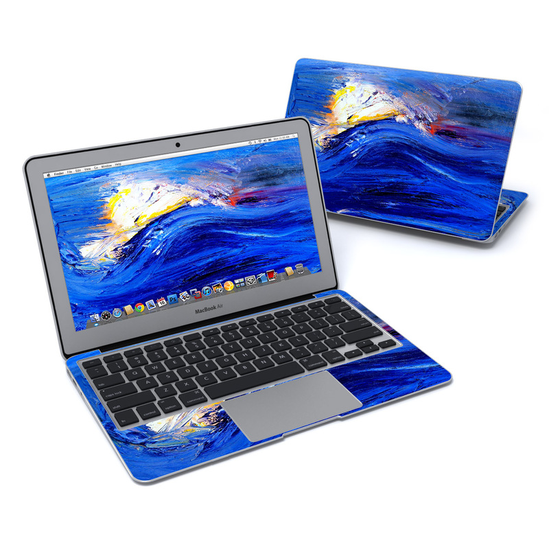 Feeling Blue MacBook Air 11-inch Skin