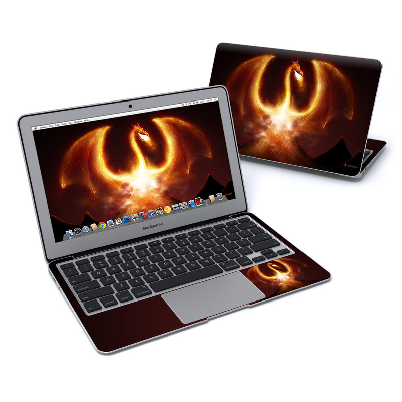 Fire Dragon MacBook Air 11-inch Skin