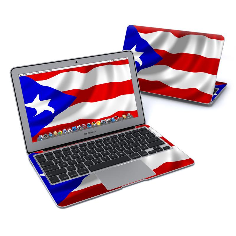 Puerto Rican Flag MacBook Air Pre 2018 11-inch Skin