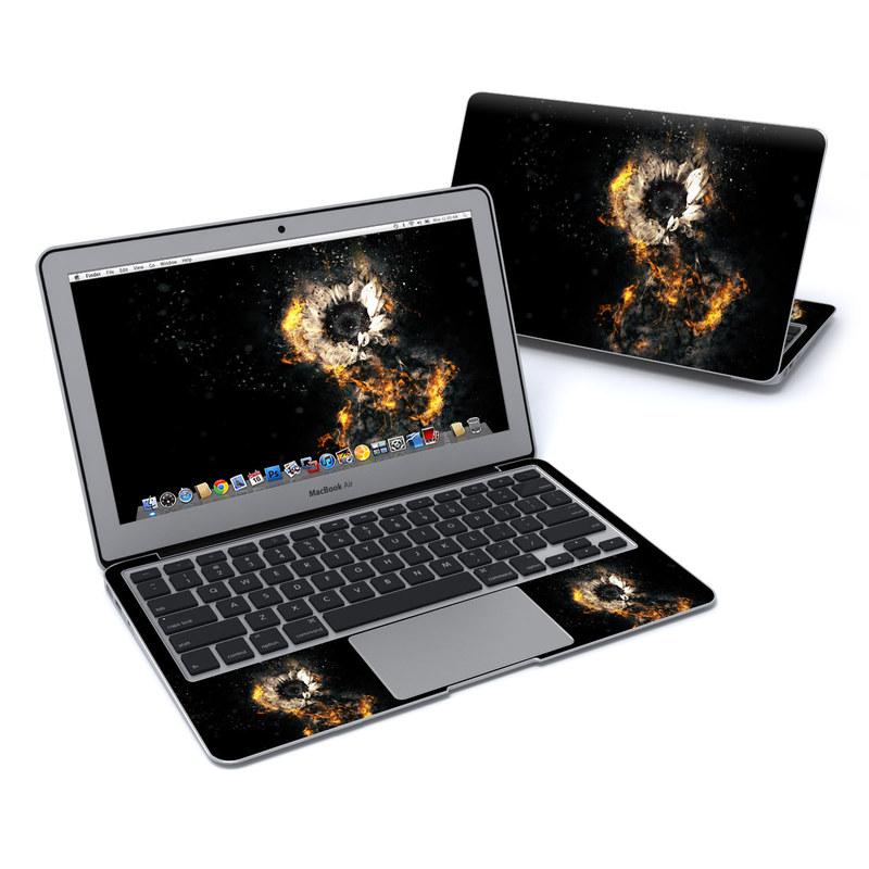 Flower Fury MacBook Air Pre 2018 11-inch Skin