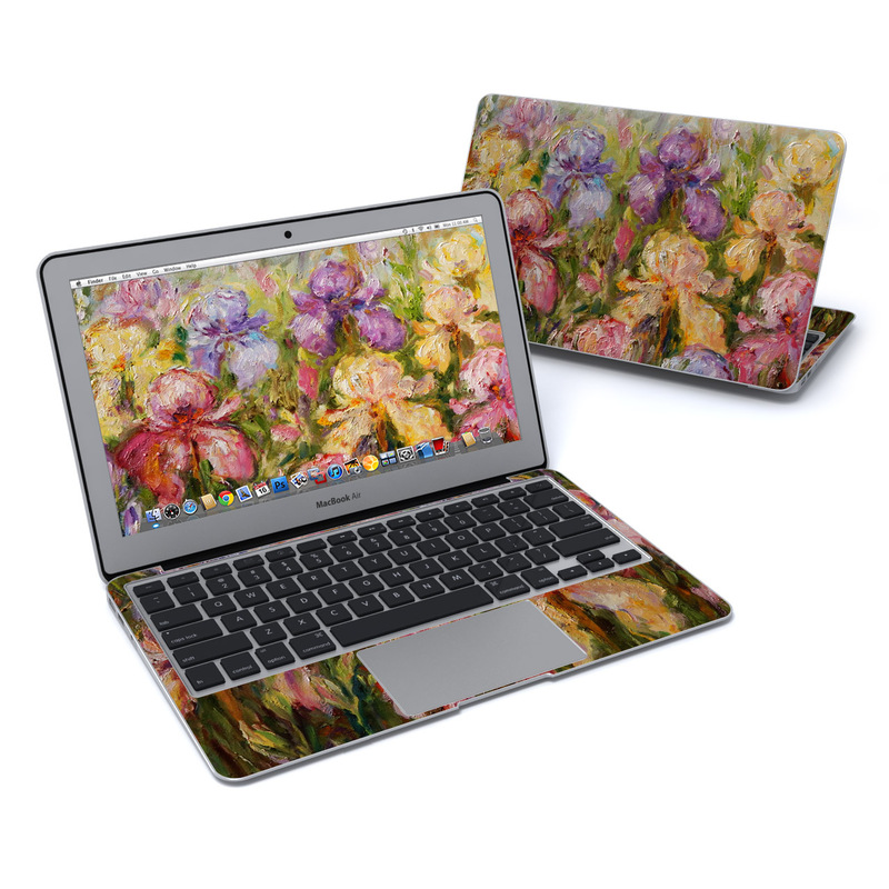 Field Of Irises MacBook Air 11-inch Skin