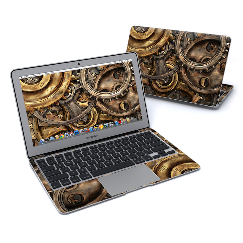 Gears MacBook Air 11-inch Skin