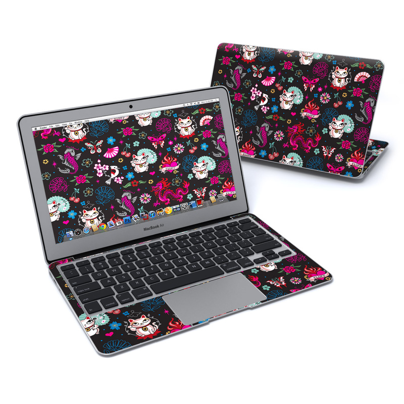Geisha Gal MacBook Air 11-inch Skin
