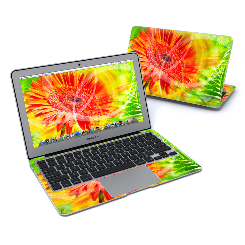 Gerbera MacBook Air 11-inch Skin