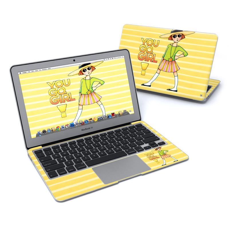 You Go Girl MacBook Air 11-inch Skin