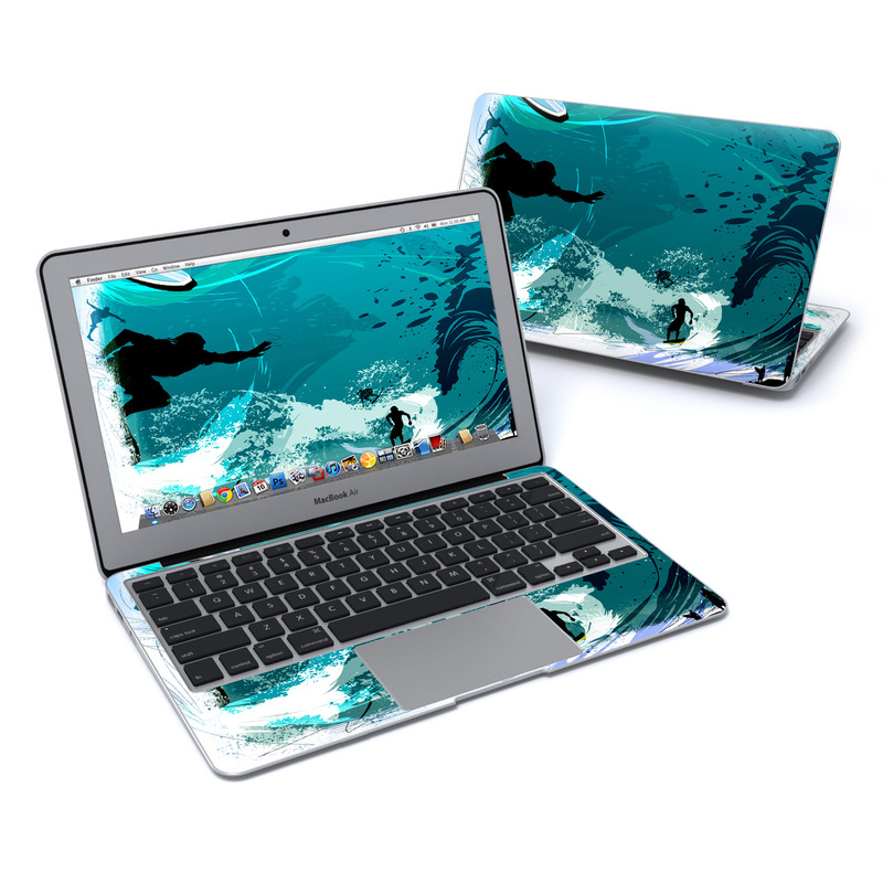 Hit The Waves MacBook Air 11-inch Skin
