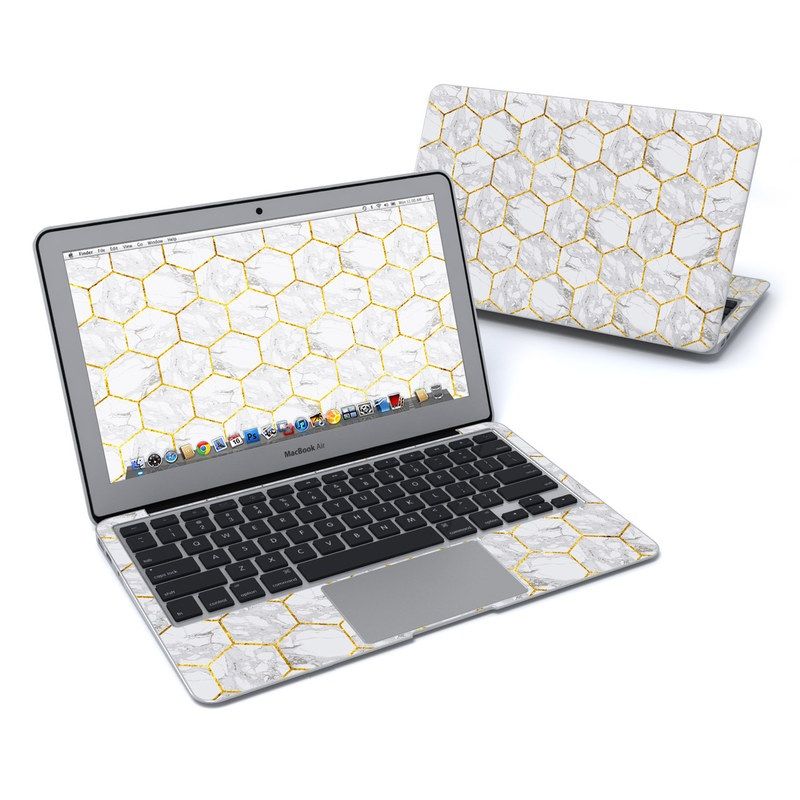 Honey Marble MacBook Air 11-inch Skin