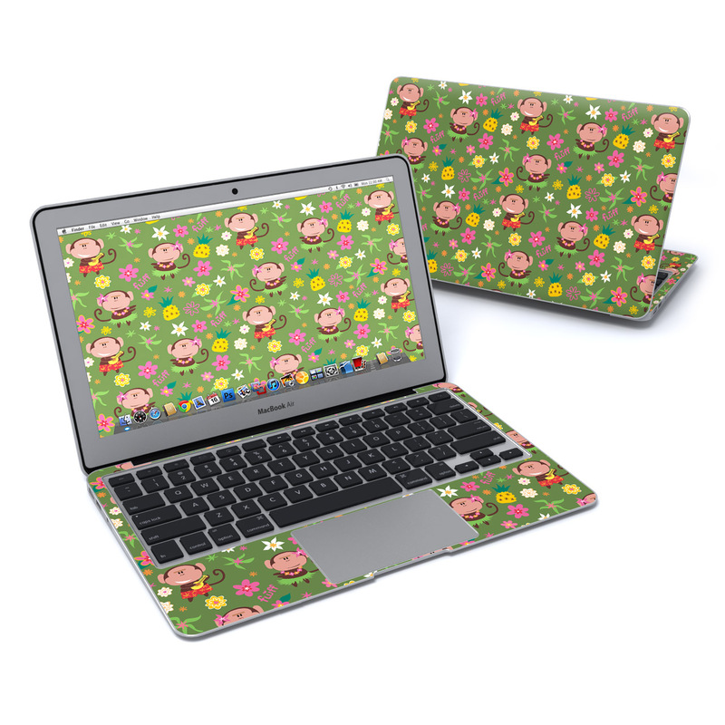 Hula Monkeys MacBook Air 11-inch Skin