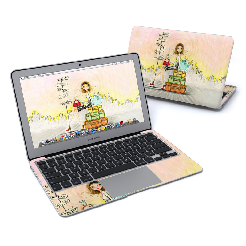 The Jet Setter MacBook Air 11-inch Skin