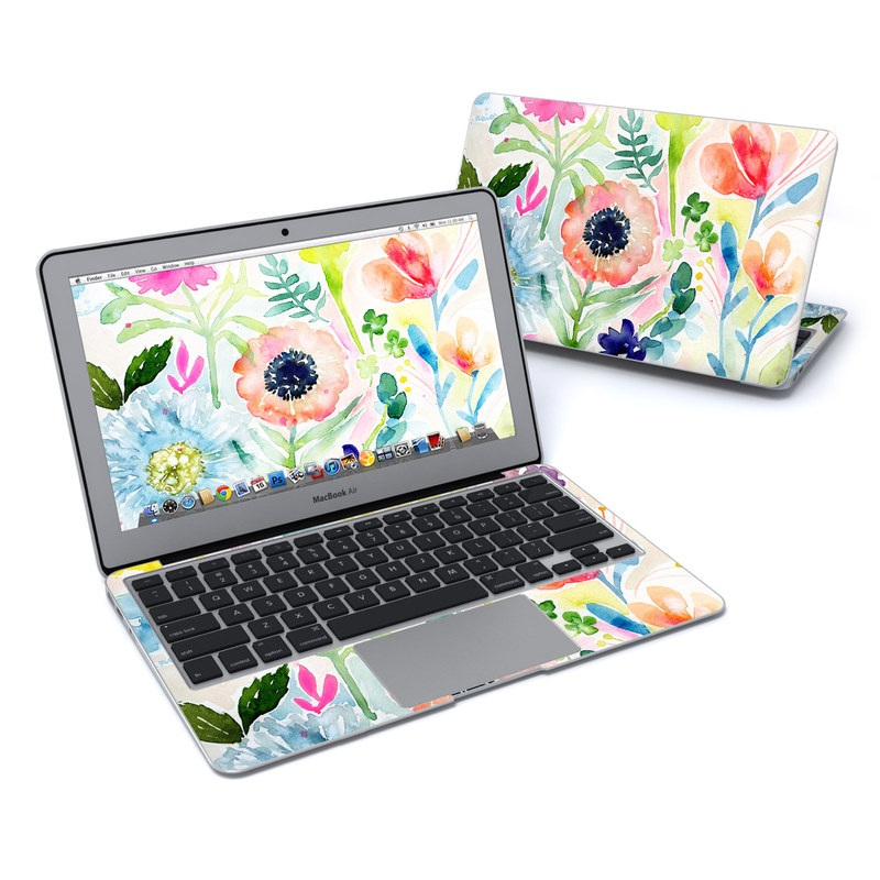 Loose Flowers MacBook Air 11-inch Skin