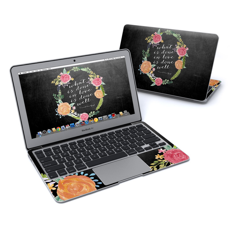 Love Done Well MacBook Air 11-inch Skin