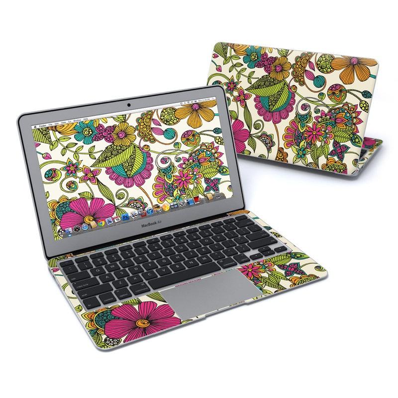 Maia Flowers MacBook Air 11-inch Skin